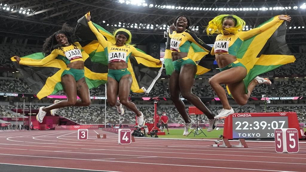 Kipyegon, Miller-Uibo y Jamaica (F), marcaron lo mejor de la jornada