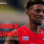 Shainer Reginfo: «No pensé en medallas, pero estaba seguro de que iba a hacer un buen papel»